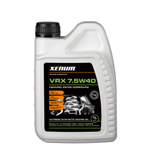 Моторное масло с микрокерамикой Xenum VRX 7.5W40 (1л)
